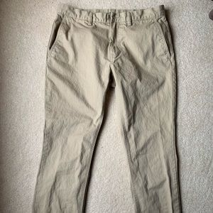 Men's Khaki chino jeans
